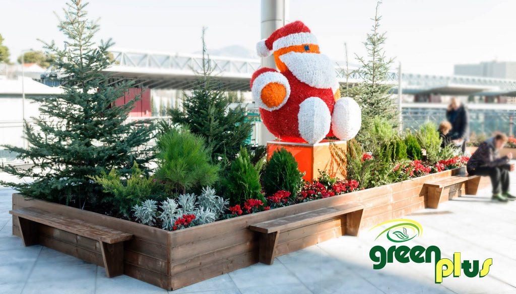 Χριστουγεννιάτικη Διακόσμηση – Mall of Athens